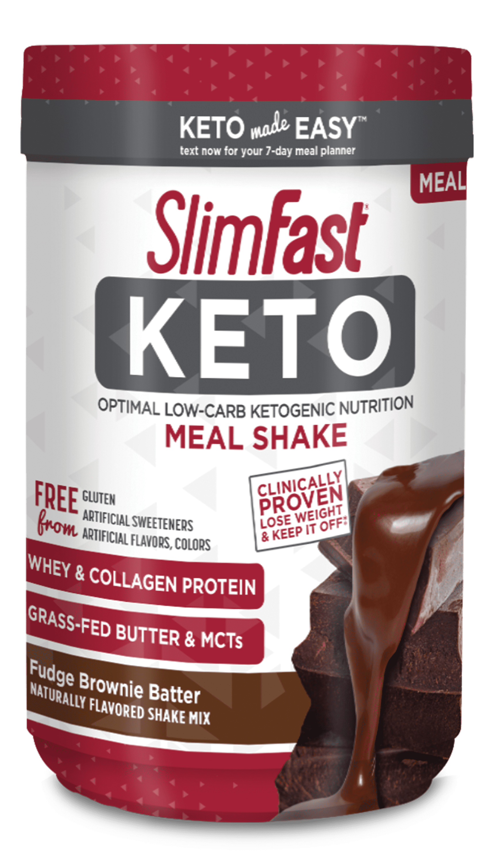 Slimfast Keto Fudge Brownie Batter Meal Replacement Shake