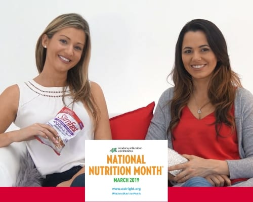 Join Maryann Walsh & Hazely Lopez for SlimFast National Nutrition Month. In part with Academy of Nutrition & Dietetics.